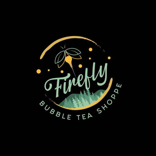 Firefly Bubble Tea Logo