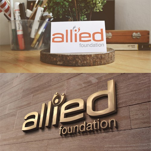 Create a logo for the foundation of a huge medical practice in NY