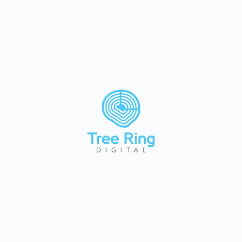 Logo for Tree Ring Digital