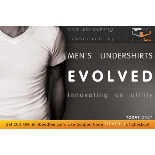 Web Ad for Cool Tee Shirt Company