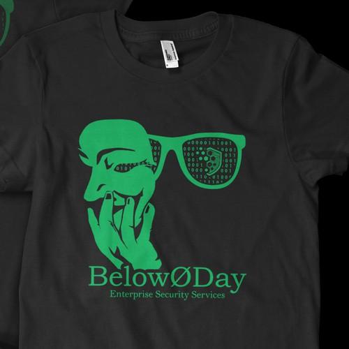 Hacker T-shirt Design