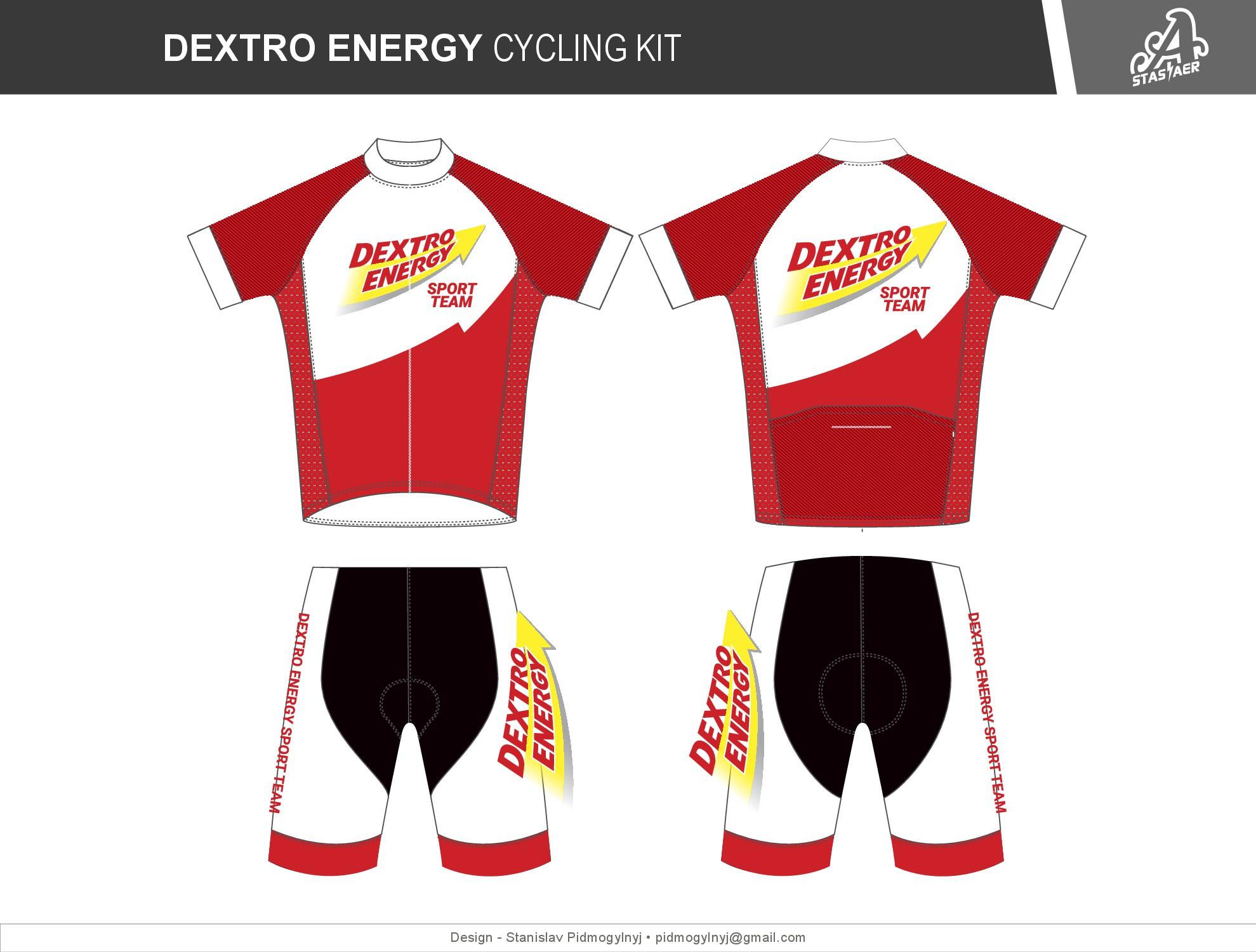 Das Dextro Energy Sport Team braucht ein top Team-Trikot-Design!