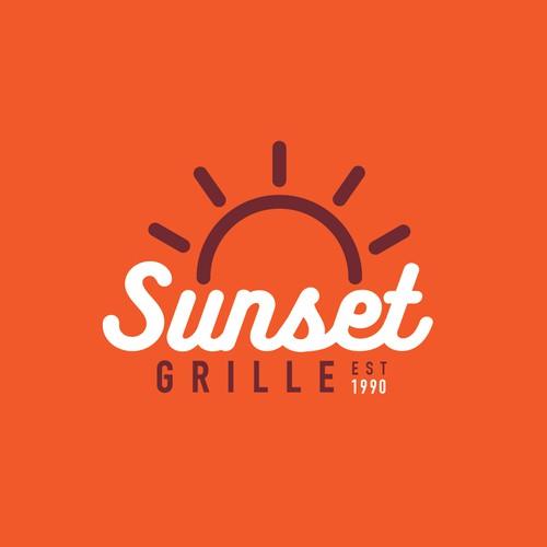 Sunset Grille Branding