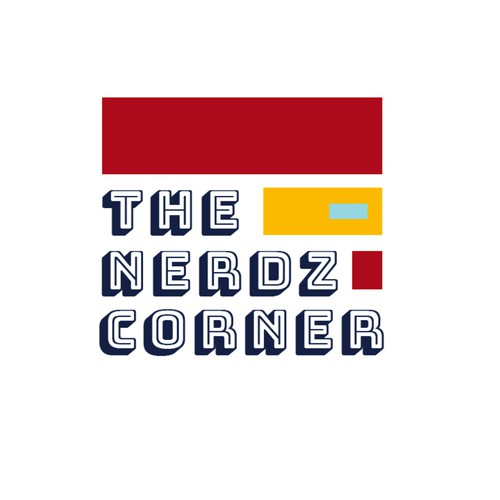 Creative fun logo for a platform for nerds