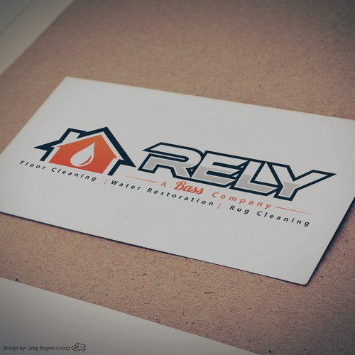 Logo for Cleaning & Maintenance company.