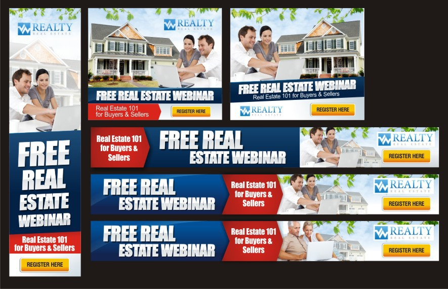 Create the next banner ad for W Realty