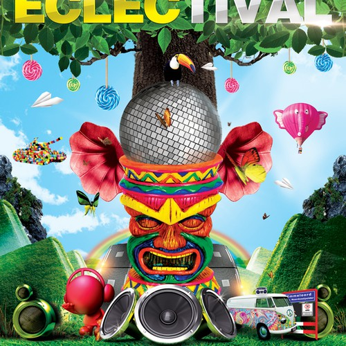 Looking for a Wicked Poster for Outdoor Dance Festival