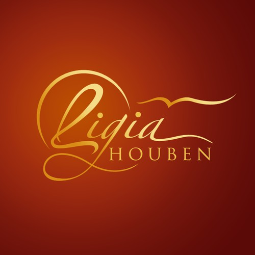 Logo creative enhancement for Ligia Houben