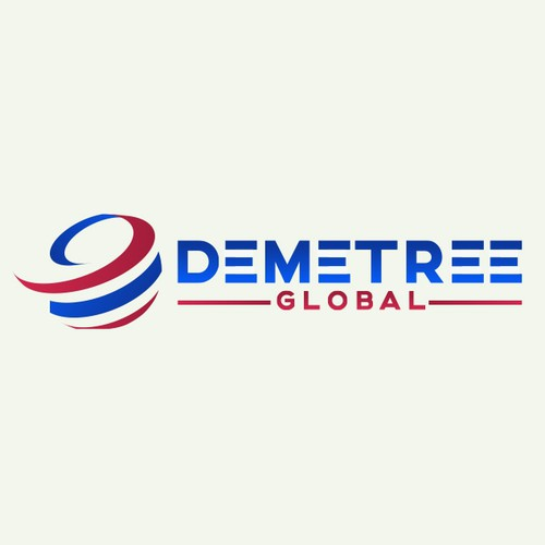 Demetree Global Logo Design
