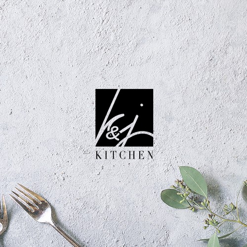 "Logo for ""K&J Kitchen"""