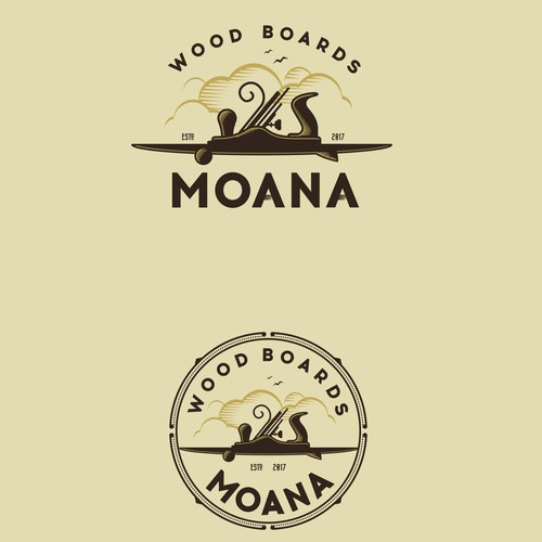 Moana Wood Boards