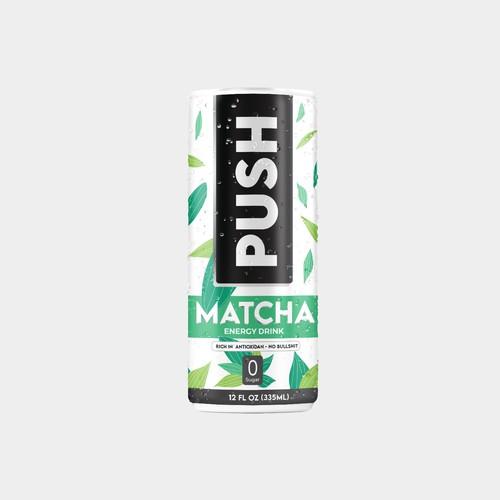 PUSH - Matcha energy Drink