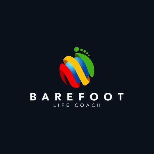 barefoot logo design