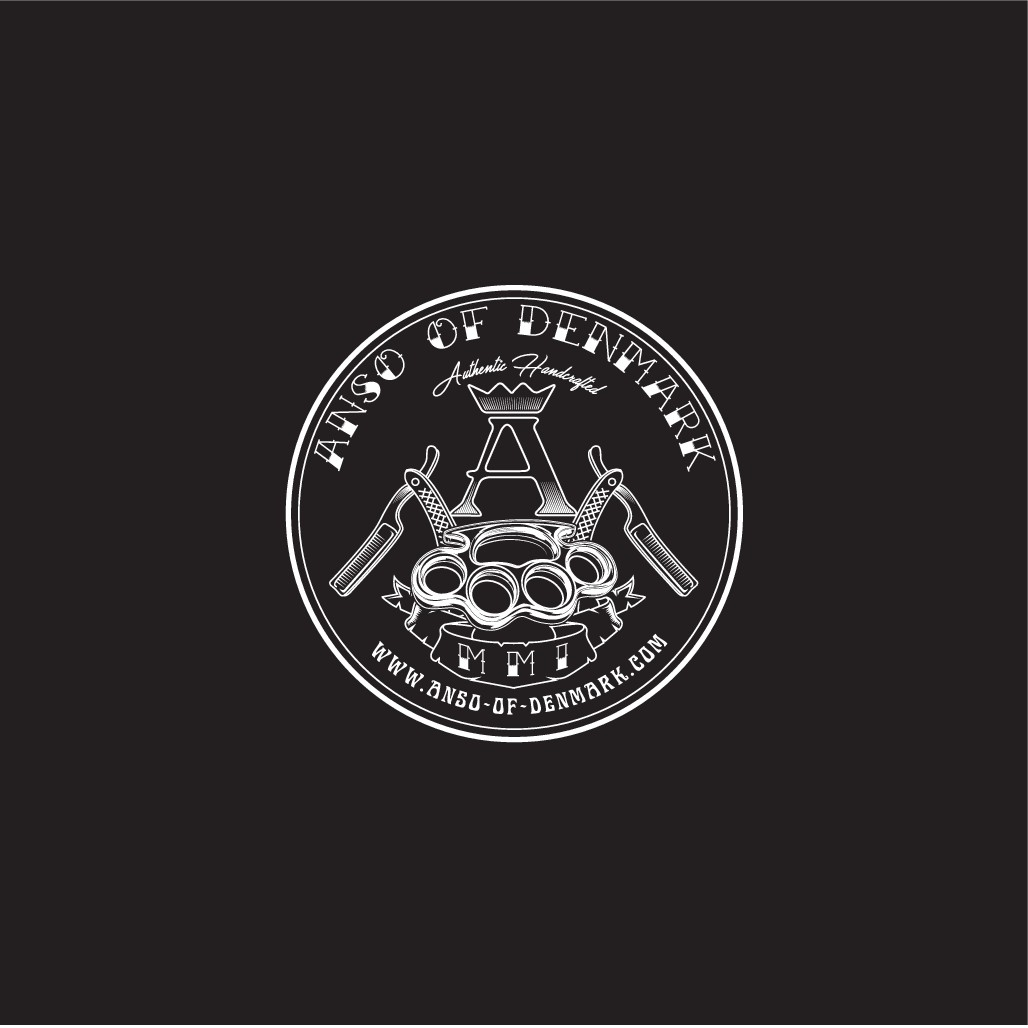 """Sticker design for High End Lifestyle brand - """"Anso of Denmark"""""""