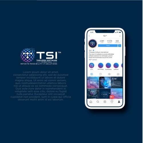 Logo for Thielepek Software International (TSI) software startup
