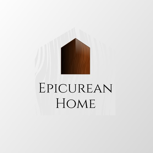 Logo design for beautiful interior wood