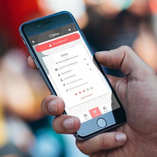 GlimUp App Design