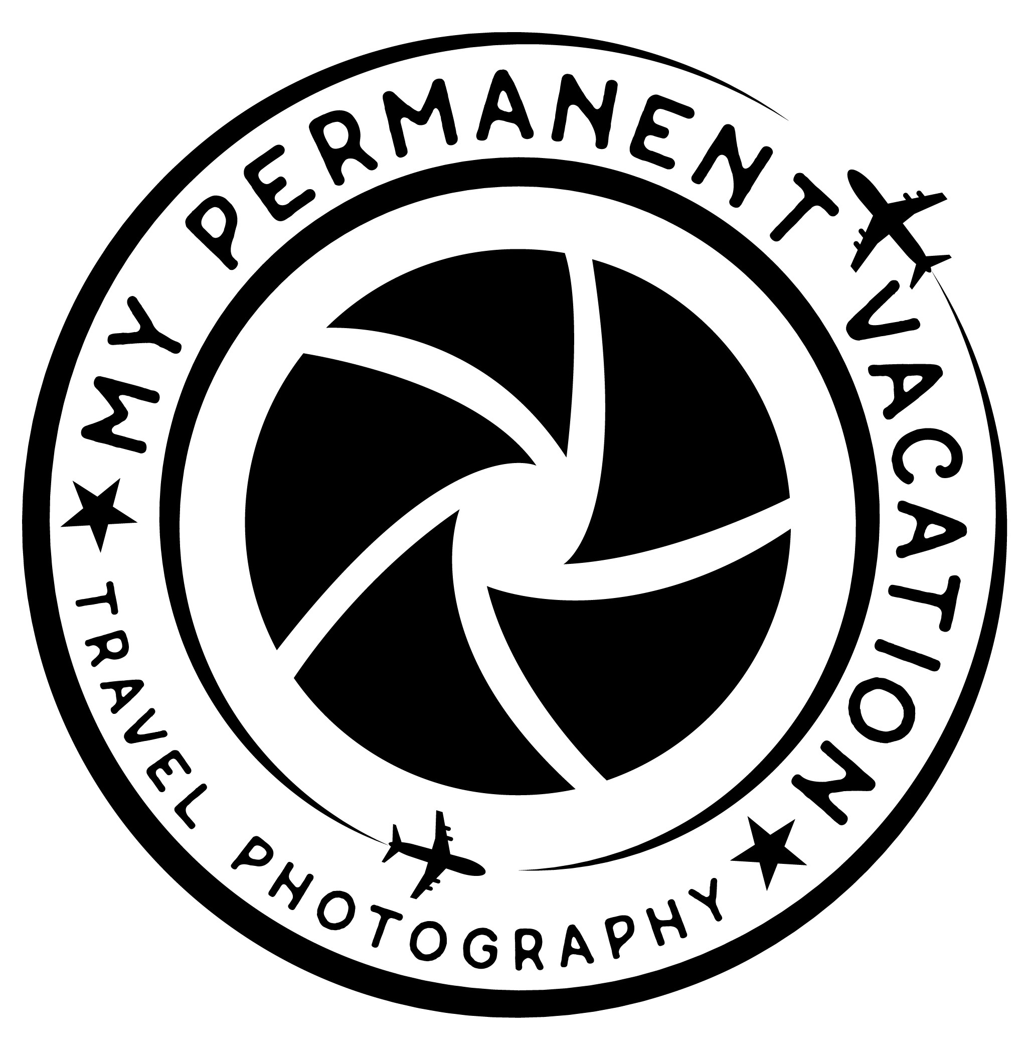 Non-Grunge Version of My Permanent Vacation Logo