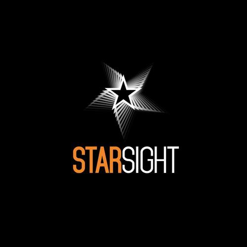 Design a cool techie logo for 3D camera company StarSight