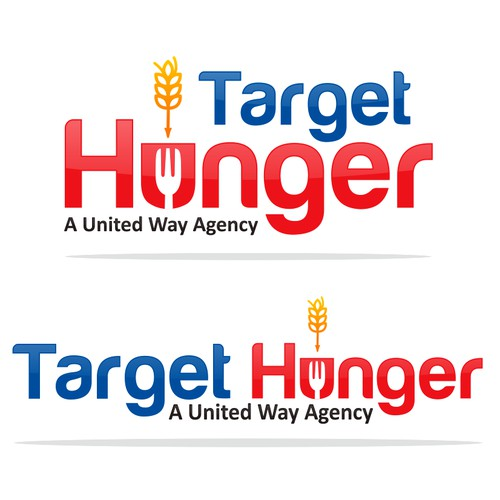 Target Hunger isn't Target Stores!  Can you communicate that with your logo design?