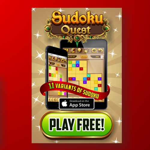 Ad Banners for Mobile Game