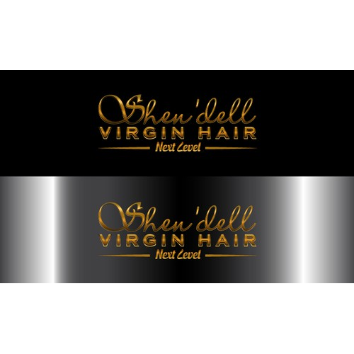 Hair Extensions Logo Design