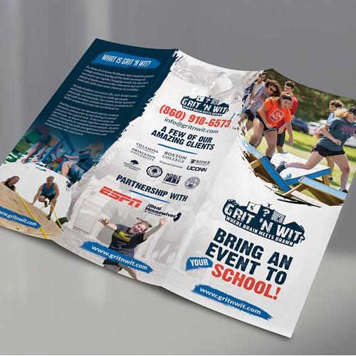 adventure sports brochure