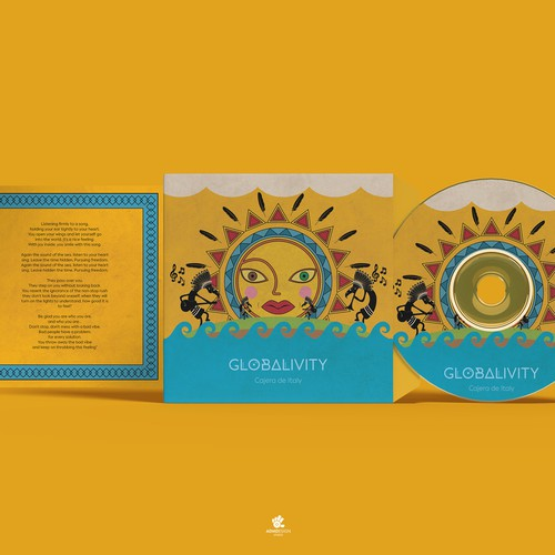 GLOBALIVITY Cajera de Italy EP Single Design