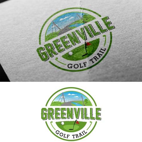 Logo for golf trail