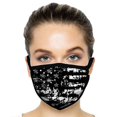 US Flag Face Mask Design 01
