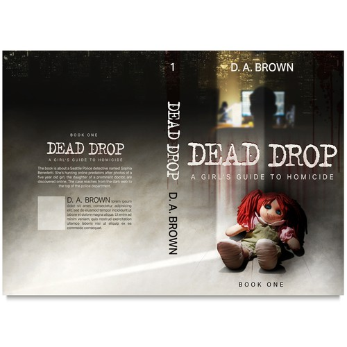 Book cover Dead Drop