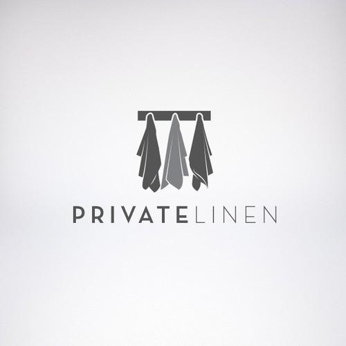 Logo concept for Private Linen