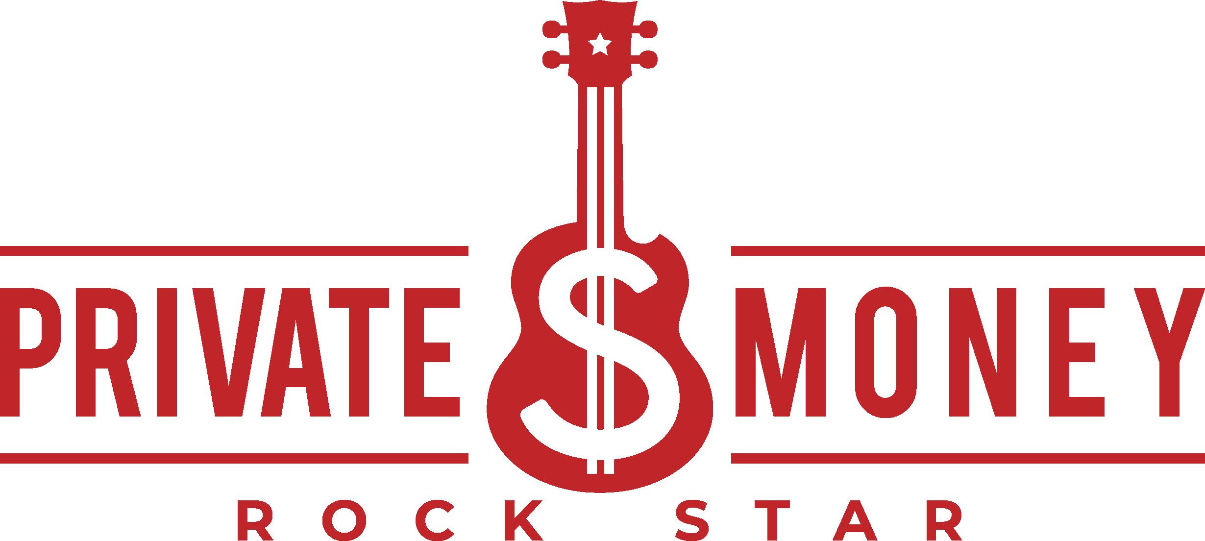 Create a rocking logo for a private money raising education platform.
