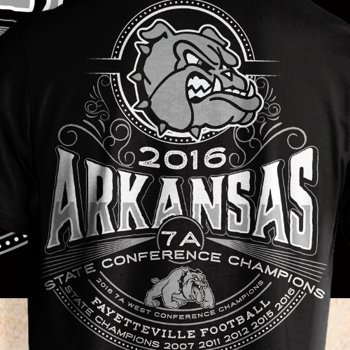 High School Football Championship Tshirt