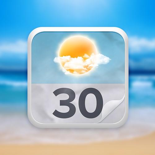 IOS Icon for Horizon Weather/Calendar app