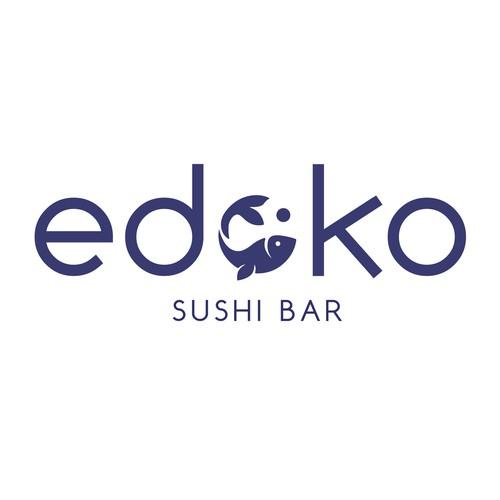 Logo for sushi restaurant