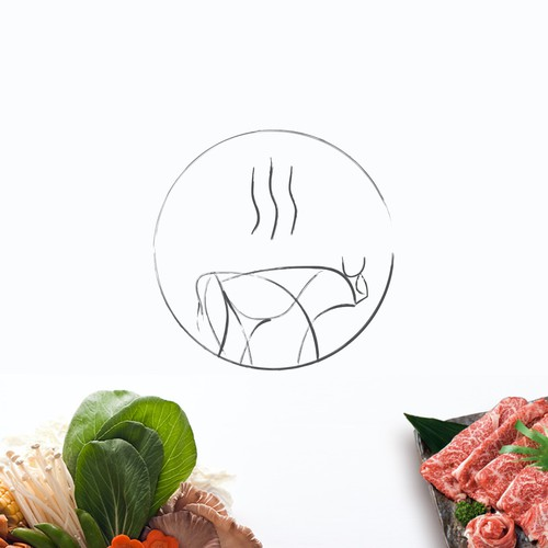 Picasso style identity for shabu shabu chain