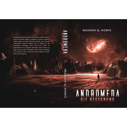 'Andromeda' book cover