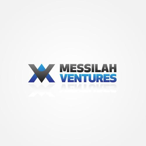An MV letter logo concept for a venture company