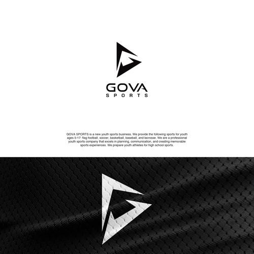 ICONIC logo concept for GOVA SPORTS.