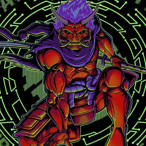 Ninja Oni Cyborg