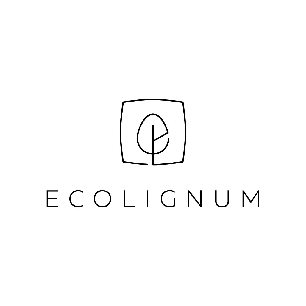 Create an inspirational and minimalist logo for manufacturer of solid wood furniture