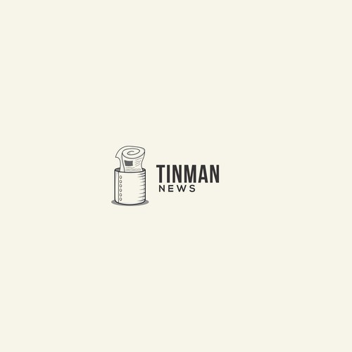 logo for TINMAN NEWS