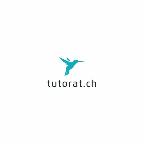 The Flying Hummingbird logo concept for Tutorat