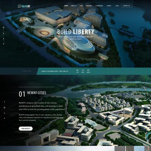 Web design for NeWay