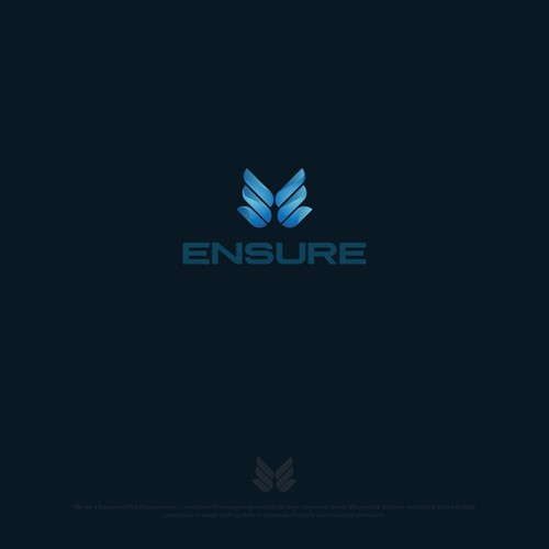 Logo for Ensure business consulting