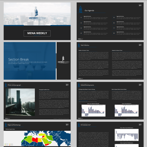 Powerpoint Presentation for LightHouse Research