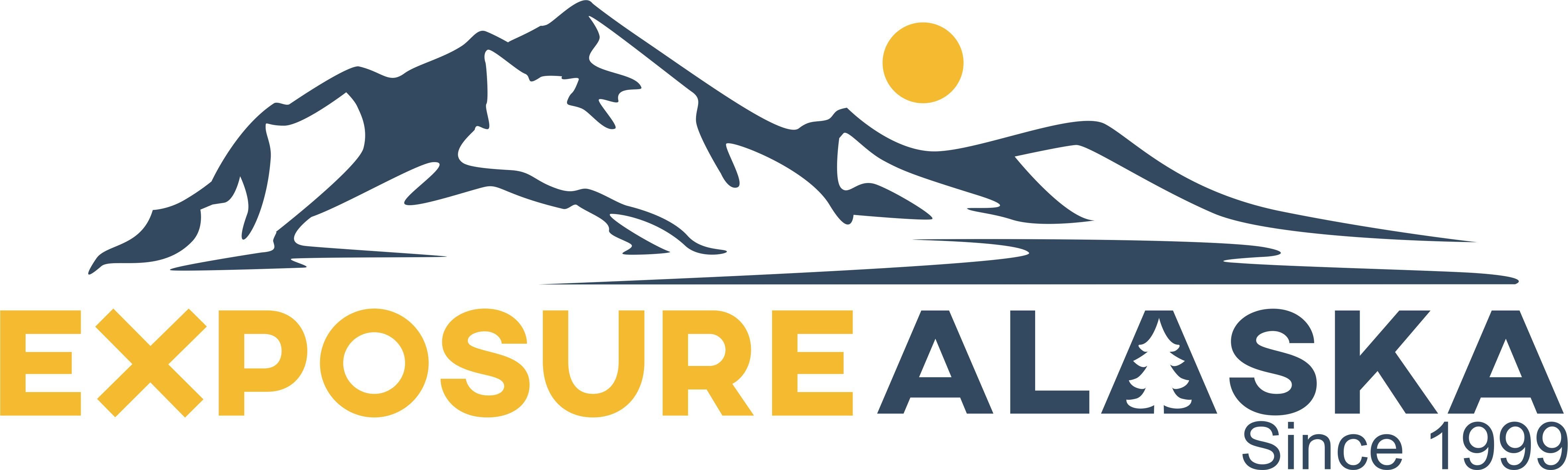 New adventurous logo for Alaska adventure company