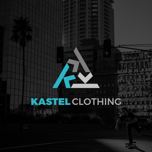 Logo concept for Kastel Clothing