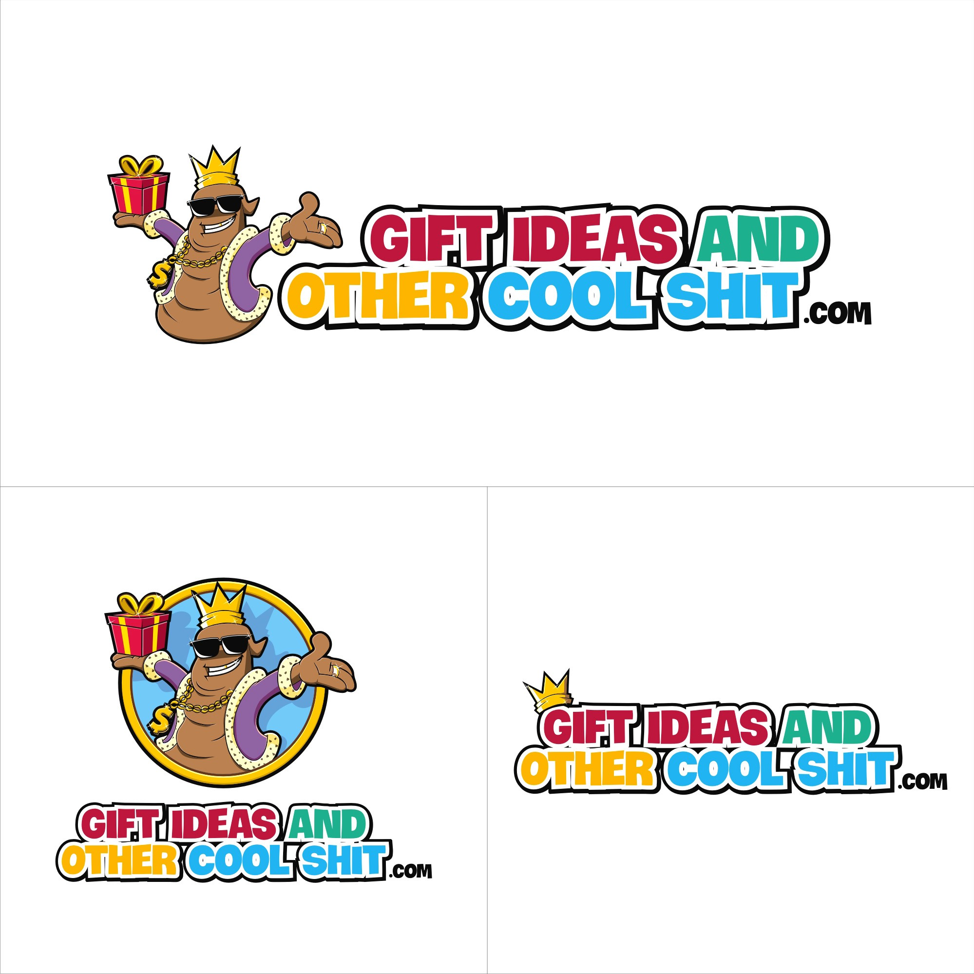 ***Eye Catching Logo Needed*** for Gift Ideas And Other Cool Shit . Com